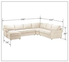 Honey We're Home: Our Living Room Sectional (Pottery Barn Pearce) - A Review