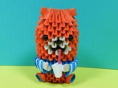 Etsy の 3 D OrigamiRoot ビール ベアモデルします by 3Dorigamidreambank