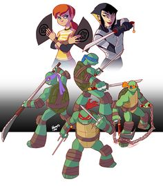 deviantART Picks 9/28/2014 Weekend Edition #TMNT #Nickelodeon | Images Unplugged
