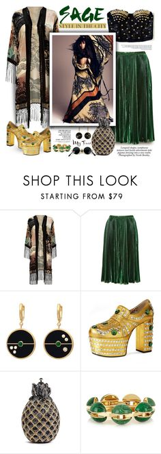 """,,If you ever fall, I'd lift you up...."""" by purplecherryblossom ❤ liked on Polyvore featuring Nicole, River Island, Rochas, Versace, Gucci, Judith Leiber and Chloé"