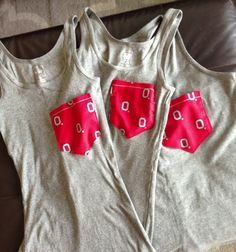 Slim Fit Ohio State Pocket Tanks by kaylealivingston on Etsy