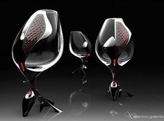 The sexiest, sleekest wine glasses alive, perfect for drinking wine in wine country California!