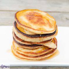 cornmeal pancakes with buttermilk. This recipe will give you fluffy and airy pancakes for you breakfast or brunch.
