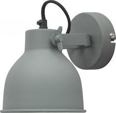 Wandlamp Industrial Large Vintage grey - Urban Interiors