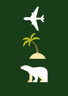 Lost. In case the polar bear, plane and island didn't tip you off.