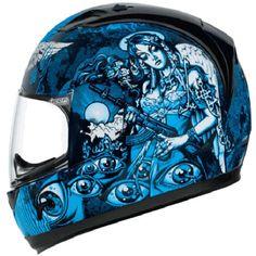 atv helmets for women blue | ... Helmet - Street Bike Helmets - Mens Riding Gear - Motorcycle Market