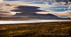 Clouds, Mountains and Fences, Iceland by Adam Monk on 500px