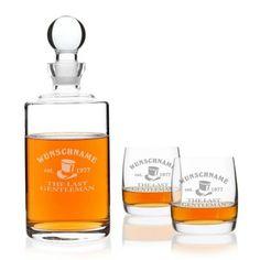 Privatglas Whiskeygläser Bohemia und Glas-Karaffe mit GRATIS Laser-Gravur: http://cocktail-glaeser.de/set/privatglas-whiskeyglaser-bohemia-und-glas-karaffe-mit-gratis-laser-gravur/