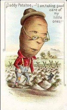 Oh dear old Mr Potato head..