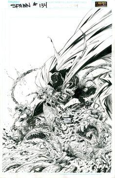 Spawn Vol.1 #134 cover; by Greg Capullo