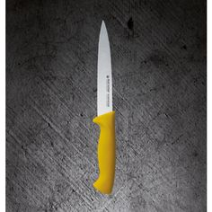UNIVERSAL KNIFE-- Dimensions: 15 cm (suggested use: Poultry)  Unique features: ***Molybdenum Vanadium Stainless steel enables no food particles retention  ***Razor-sharp edge ***Ergonomically designed antibacterial handles  ***High corrosion resistance ***Easy cleaning & maintenance ***Fatigue-free professional and home use  ***In line with Food Safety Regulations ***Different colors for different use – minimum risk of food contamination