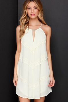 Meadow the Way Cream Lace Dress - Click link for product details :)