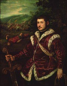Retrato de un joven - Tintoretto