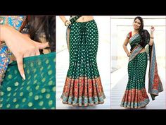 WEIRD TRICK To Get Perfect PLEATS on HEAVY Sari - How To Wear HEAVY Saree Perfectly | Anaysa - YouTube