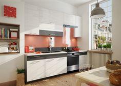 V kuchyni trávíme mnoho času, ať už vařením, stolováním či posezením s přáteli. Proto její výběr nepodceňujte, naopak vyberte si takovou, která vám bude... Kitchen Cabinets, Fresh, Brown, Furniture, Blanka, Design, Home Decor, Europe, Kitchen Units