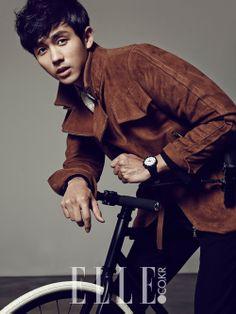 [OFFICIAL] 2AM's IM SEULONG – ELLE Magazine, December 2013 ⓒELLE Korea http://elle.co.kr