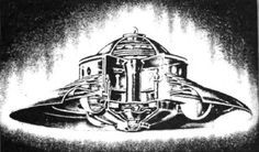 """The Lost Journals of Nikola Tesla - 06-They act like a surfboard on a wave... the electrogravitational saucer creates its own hill, which is a local distortion of the gravitational field, then it takes this hill with it in any chosen direction and at any rate. """"The occupants of one of [Brown's] saucers would feel no stress at all no matter how sharp the turn or how great the acceleration."""