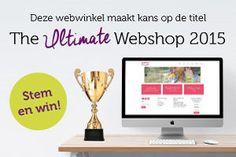 HOERA, wij zijn een van de 25 genomineerden voor de titel Ultimate Webshop 2015! We zijn nu twee weken bezig met de stemming en vol trots kunnen we al zeggen dat we van de 25 genomineerden op de 8e…