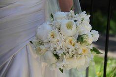 Flower Design Events: White Bridal Bouquet