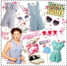 Style Crush: Dolores Haze by lolitadelrey, via Polyvore