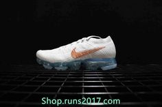 New Nike Air VaporMax 2018 Flyknit White Gold Tick Women Men - Hot Style - New Nike Air VaporMax 2018 Flyknit White Gold Tick Women Men Sneakers - If you want to other size you can leave massege New Style,,So Hot! New Nike Air, Nike Air Vapormax, Mens Fashion Shoes, Runway Fashion, Fashion Models, Curvy Petite Fashion, Ankle Shoes, Everyday Shoes, Plimsolls
