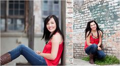 senior portrait, urban pictures, McKinney cotton mill, senior what to wear ideas, high school senior pictures // Catherine Clay Photography Seniors by Anica