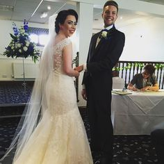 Congratulations Mr and Mrs Davidson! #wedding