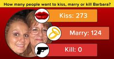 Kiss, marry or kill? We will tell how many people love you, lust for you and hate you. Click here to find out!