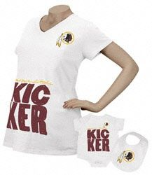 a51204ba3 This  Redskins maternity  amp  infant t-shirt  amp  bib set is a · Redskins  ApparelRedskins GearRedskins BabyHurricanes HockeyWashington ...