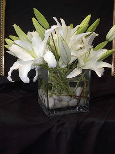 My ALL time favorite: white lilies