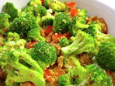 Broccoli Parmesan - The Fit Cook - Healthy Recipes - Skinny Recipes