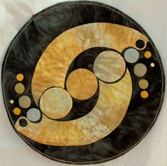 easy circle quilts   Crop Circle Art Quilt