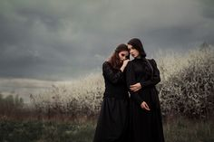 Sokovia and Neverestin make up - Pracownia Wizażu Aleksandra Aszyk, Dorota Ossowska Make-up Artist Before the storm Black Sisters, Sister Photos, Southern Gothic, Modern Witch, Witch Aesthetic, Look At You, Wall Collage, Aesthetic Pictures, Character Inspiration