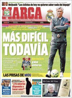 Los Titulares y Portadas de Noticias Destacadas Españolas del 31 de Mayo de 2013 del Diario Deportivo Marca ¿Que le parecio esta Portada de este Diario Español?