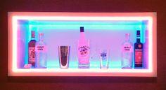 LED kann gut dafür genutzt werden, um einzelne Gegenstände zu betonen und bewusst in den Vordergrund zu stellen.