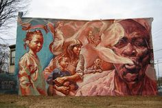 Image detail for -what about the plastic animals?: Philadelphia Murals