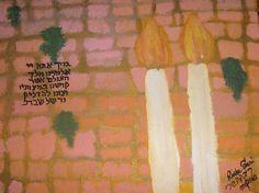 Shabbat at the kotel by rivkasari on Etsy, $40.00    www.rivkasari.com