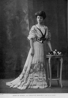 Les Modes, 1907/03 - Robe de diner