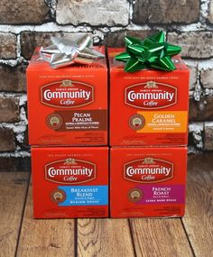 Giveaway! Community Coffee Kcups or Ground