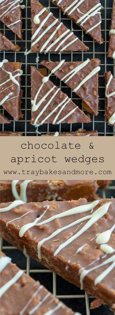 A very simple no-bake traybake. Crushed cookies, chocolate and dried fruit combined to make a very easy slice! Sweet Recipes, Cake Recipes, Dessert Recipes, Traybake Cake, No Bake Slices, Delicious Desserts, Yummy Food, Retro Recipes, Pastry Cake