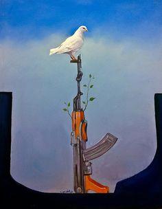 "Paintings titled ""Iraq defies terrorism"" Iraq .. Baghdad Photography Rasoul Ali لوحات فنية تحت عنوان "" العراق يتحدى الارهاب "" العراق .. بغداد تصوير رسول علي"