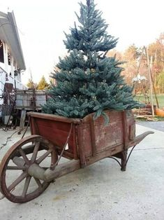 Vintage Decor Ideas 40 Rustic Outdoor Christmas Décor Ideas Christmas Celebrations - Christmas decorations are marked by the beauty of traditional accents that you can add to your home. In this regard, rustic or country style decor [. Best Outdoor Christmas Decorations, Christmas Porch, Prim Christmas, Christmas Design, All Things Christmas, Vintage Christmas, Christmas Holidays, Halloween Decorations, Outdoor Decorations
