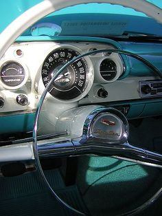 '57 Chevy dashboard