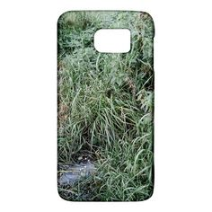 Rustic+Grass+Pattern+Samsung+Galaxy+S6+Hardshell+Case+