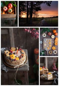 { Ode à l'automne… } | Saines Gourmandises Fall Recipes, Biscuits, Table Decorations, Healthy, Outdoor Decor, Desserts, Food, Collages, Cookies
