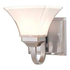 Minka Lavery Agilis 1-Light Brushed Nickel Bath Light