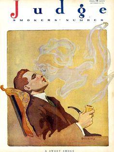 'A sweet smoke'      Judge Magazine
