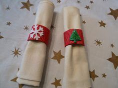 CRYSTAL CLEAR: Easy Kid's Craft, Holiday Napkin Rings (Recycled Autumn Napkin Rings Revisited)