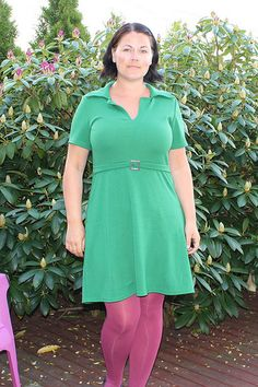 Onion 2045 in green jersey Sewing Blogs, Onion, Cold Shoulder Dress, Green, Dresses, Design, Fashion, Craft Work, Gowns