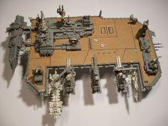 Battlefleet Gothic Scratch Build – Space Dock | The Shell Case